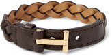 Tom Ford - Woven Leather Bracelet