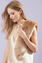 Forever 21 FOREVER 21+ Short Faux Fur Stole