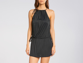 Cia.Maritima Drawstring Mini Dress