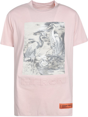 Heron Preston Regular Birds Print T-shirt
