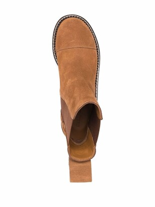 See by Chloe Suede-Leather Boots