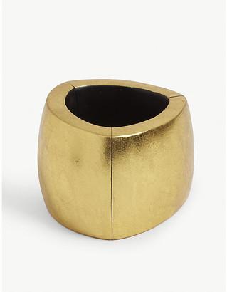 Monies Jewellery Chunky gold-foil bangle