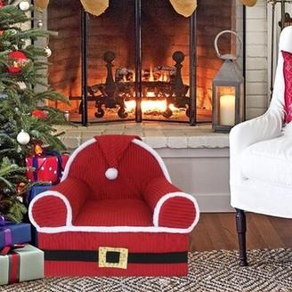 The Holiday Aisleâ® Calista Baby Santa's Kids Chair The Holiday AisleA