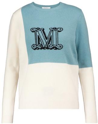 Max Mara Caimano intarsia cashmere sweater