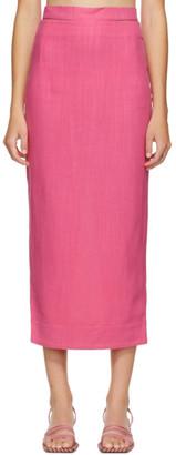 Jacquemus Pink La Jupe Valerie Skirt