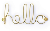 Umbra Wired Hello Wall Art