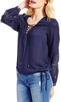 Jessica Simpson Lise Long Sleeve Blouse