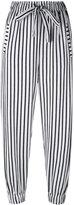 Numero 00 Numero00 - striped trousers - women - Cotton - XS