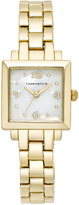 Charter Club Women's Gold-Tone Bracelet Watch 23mm 17372, Only at Macy's