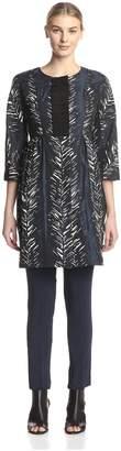 Beatrice. B Women's Patterned Coat Dress