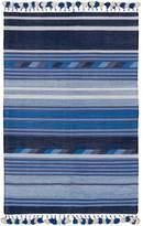 Amigos De Hoy Hand Woven Flip Rug, Blue, 130x200cm