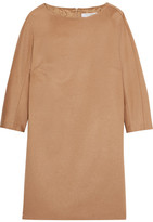 Max Mara Camel Hair Mini Dress