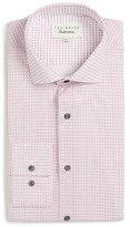 Ted Baker Men's Rosewel Trim Fit Geometric Dress Shirt