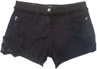 Patrizia Pepe Black Cotton Shorts for Women