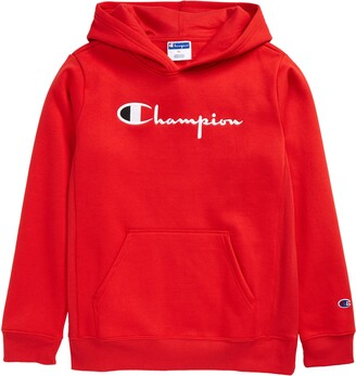 Champion Kids' Heritage Embroidered Premium Fleece Hoodie