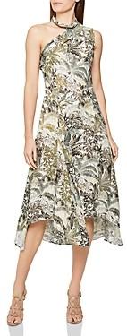 Reiss Adelia Jungle Print Dress