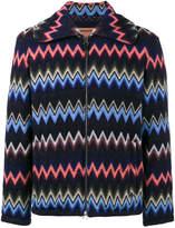 Missoni zig-zag knitted cardigan