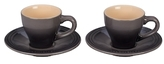 Le Creuset Espresso Cups and Saucers Set (4 PC)