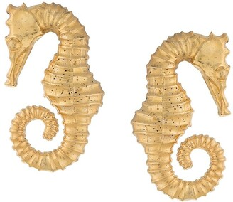 Natia X Lako Sea Horse Earrings
