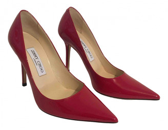 Jimmy Choo Romy Red Patent leather Heels