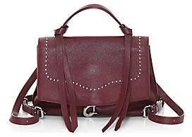 Rebecca Minkoff Women's Medium Stella Convertible Leather Satchel
