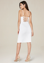 Bebe Mandi Crisscross Back Dress