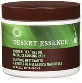 Desert Essence Facial Cleansing Pads, 50 per Jar (4 pack)