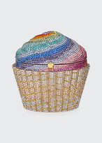 Judith Leiber Couture Cupcake Rainbow Clutch Bag, Multicolor
