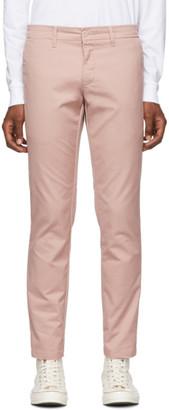Carhartt Work In Progress Pink Rinsed Sid Trousers