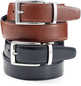 Tasso Elba 32mm Italian Glove Calf Reversible Dress Belt