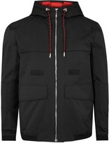 Dior Homme Black Hooded Gabardine Jacket