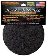 JetzScrubz Eco-Sensitive Combination Magic Scrubber and Sponge, Round, Made in the USA