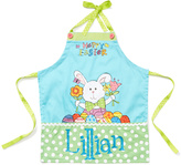 Blue Personalized Easter Apron