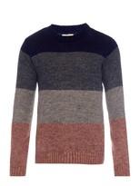 Oliver Spencer Barragan Colour-block Knit Sweater