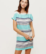 LOFT Lou & Grey Aquatic Linen Dress