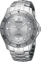 Pulsar Mens Stainless Steel Watch PXHA33