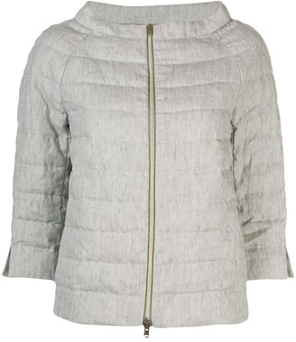 Herno Boat Neck Puffer Jacket
