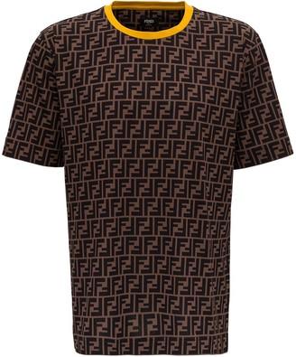 Fendi All-Over Logo T-Shirt