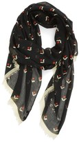 Marc Jacobs 'Tulip' Print Scarf