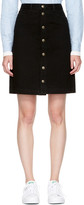 A.P.C. Black Therese Miniskirt