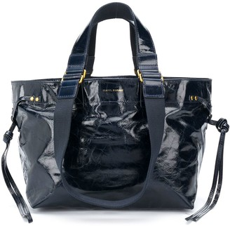 Isabel Marant High-Shine Leather Tote Bag