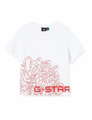 G Star G-Star girl TEE SHIRT BOXY SHORT SLEEVES