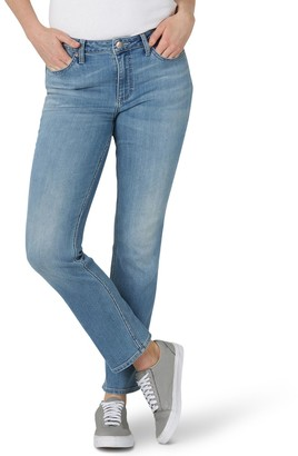 Lee Women's Regular-Fit Straight-Leg Jeans