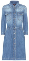7 For All Mankind Cotton Denim Dress