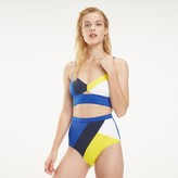 Tommy Hilfiger Colorblock Bralette Swim Top