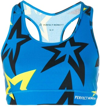 Perfect Moment Starlight racerback sports bra