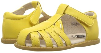 Livie & Luca Paz (Toddler/Little Kid) (Lemon Yellow) Girl's Shoes