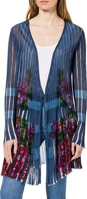 Desigual Women's JERS_RIN Cardigan Sweater