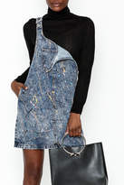 Glamorous Denim Overall Dress