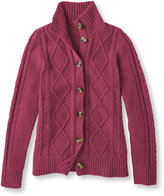 L.L. Bean Women's Vintage Cable Cardigan